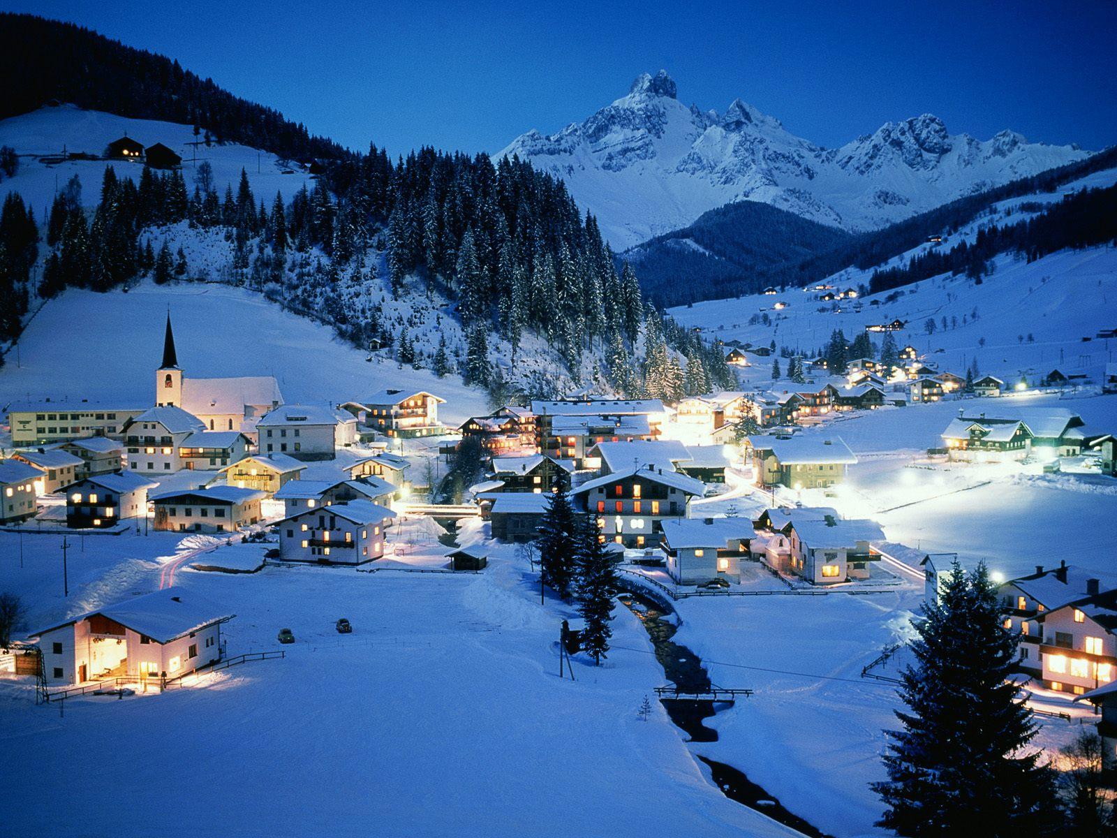 Курорты Европы предлагают ночное катание